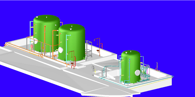 Chemical Storage and Handling Design